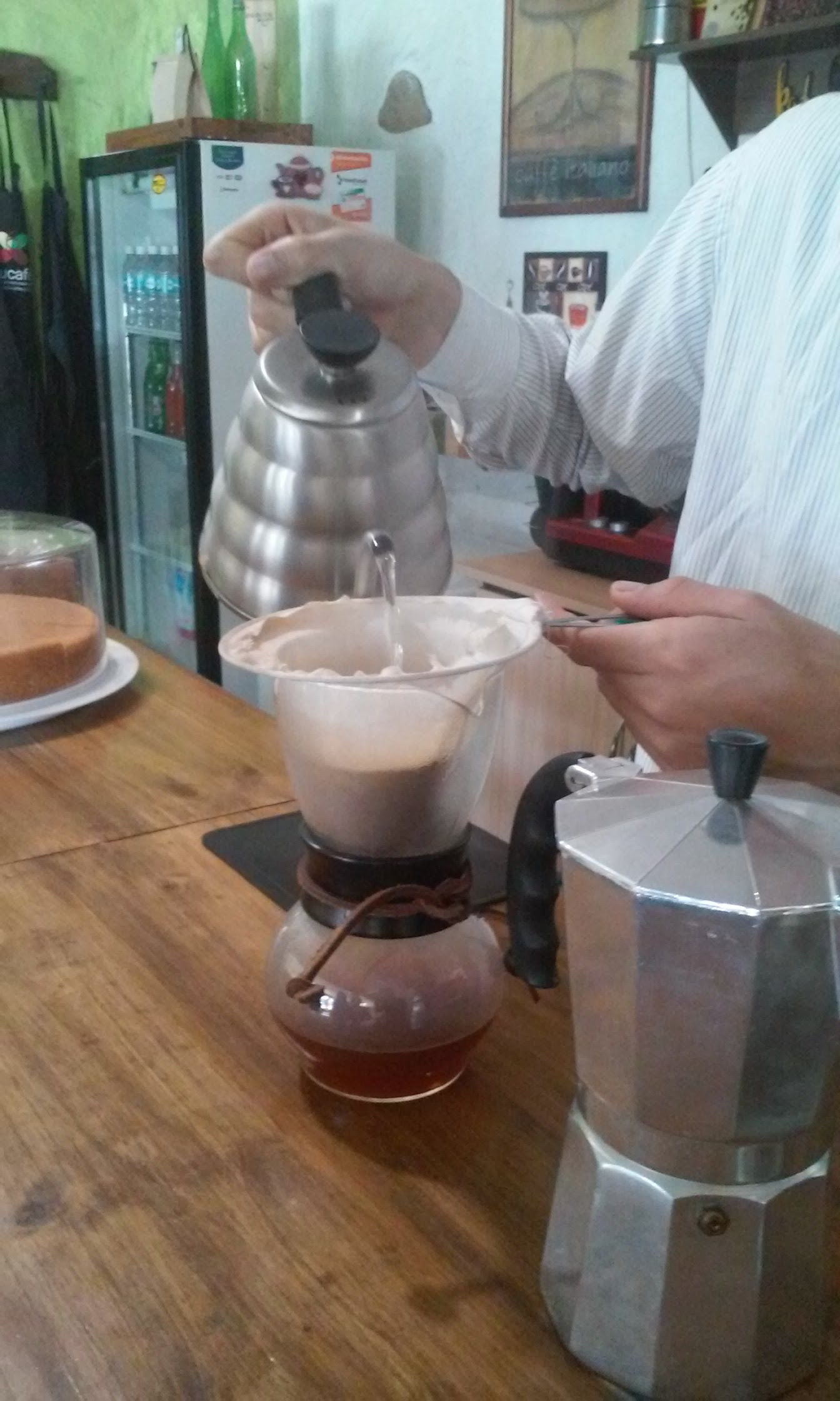 cafe brewing espresso casa