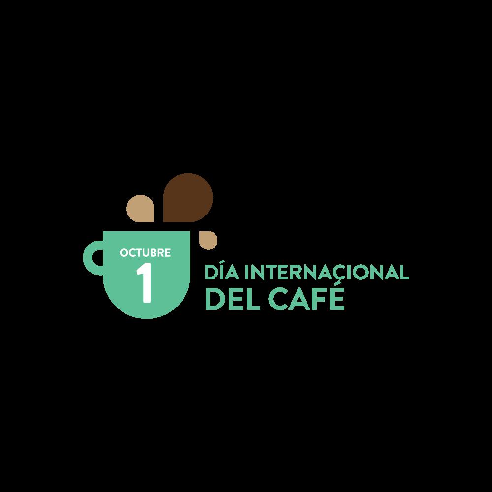 Logo del Día Internacional del Café