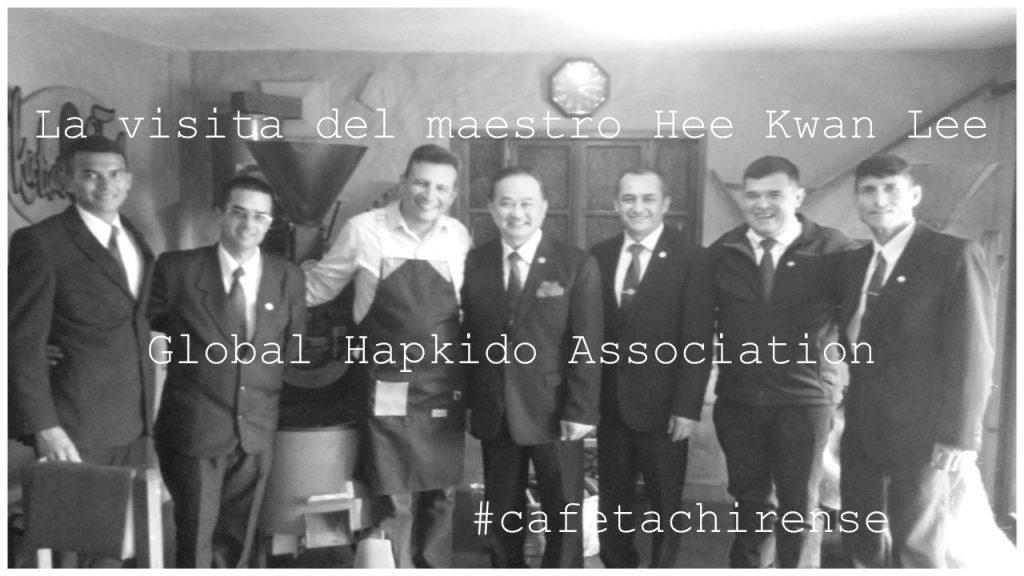 Visita al café de la Global Hapkido Association